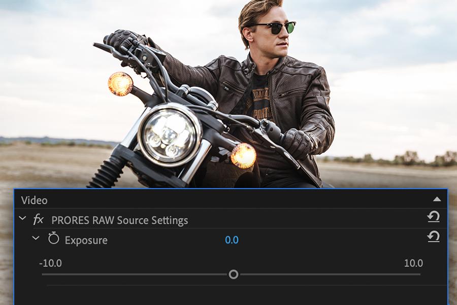 Adobe Premiere Pro ProRes RAW Settings