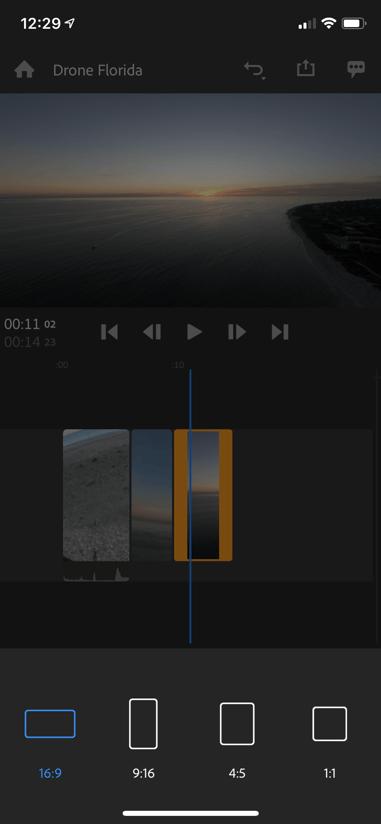 Adobe Premiere Rush 4