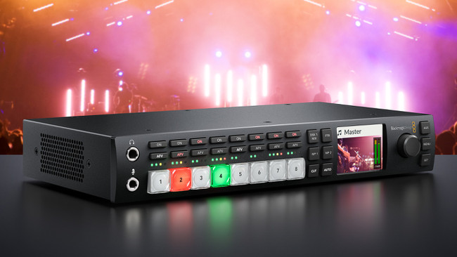 Blackmagic Atem Television Studio Hd And Web Presenter First Look