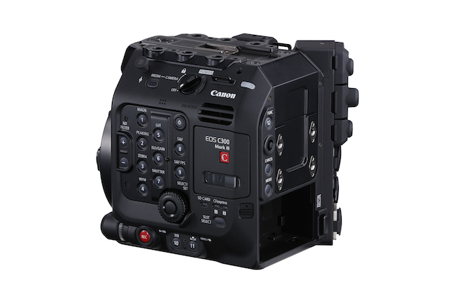4 C300 Mark III 01 back side left