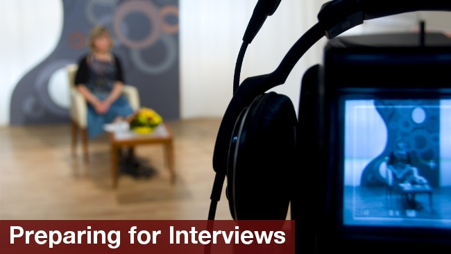 How to film video interviews