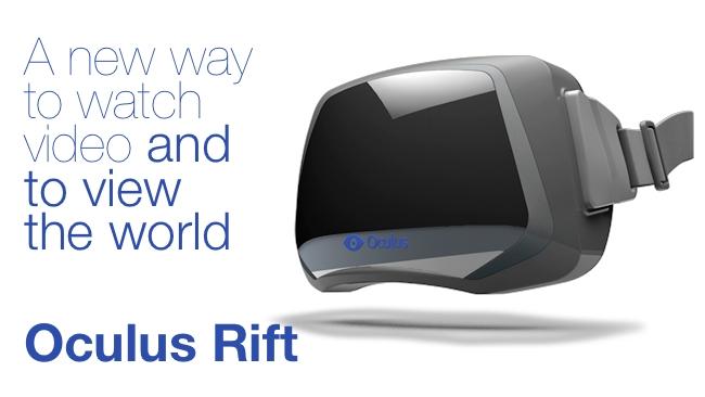 Oculus VR/RedShark