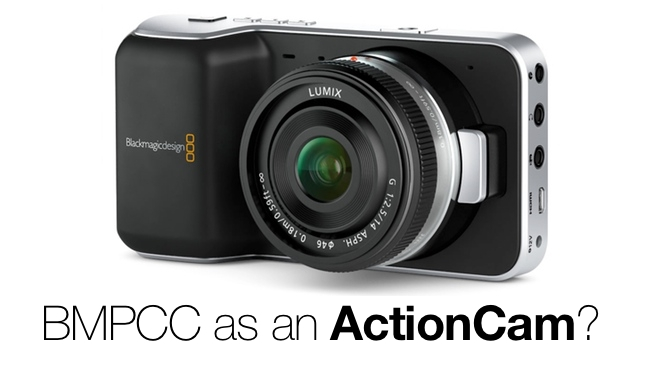 It Isn T Waterproof But How About Filming Extreme Sports With The Blackmagic Pocket Cinema Camera