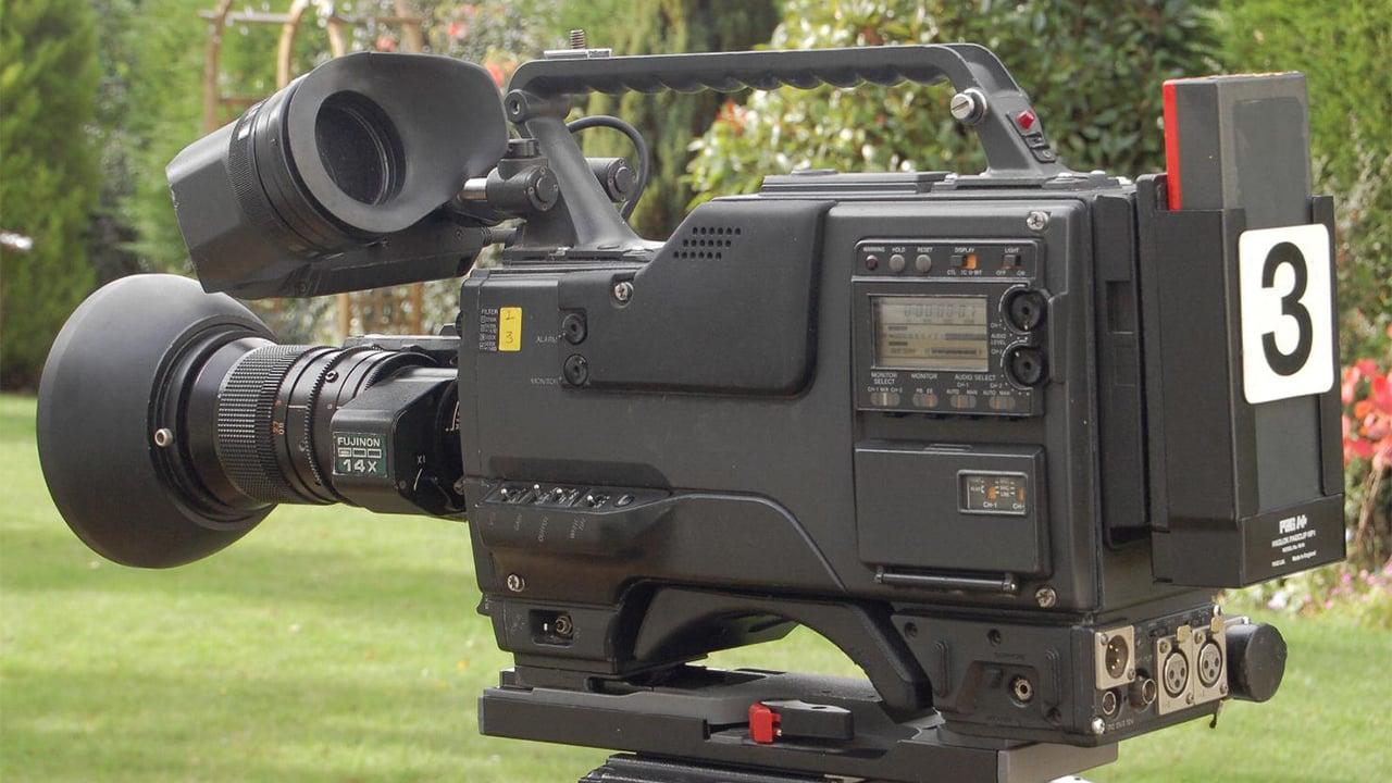 Sony Betacam camera