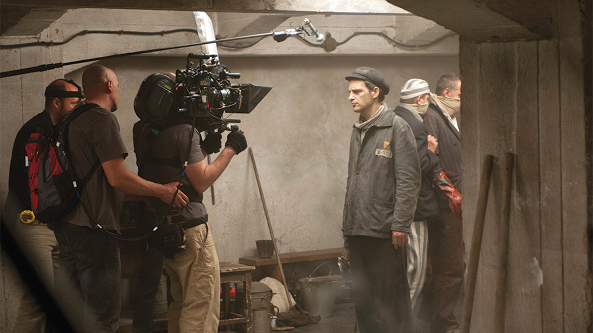 BTS on Son of Saul. Image: Sony Pictures Classics