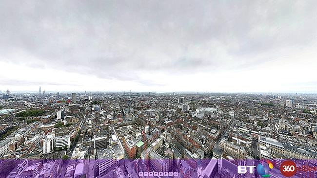 BT 360cities / Redshark