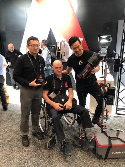 Aputure RedShark Awards NAB 2019.JPG