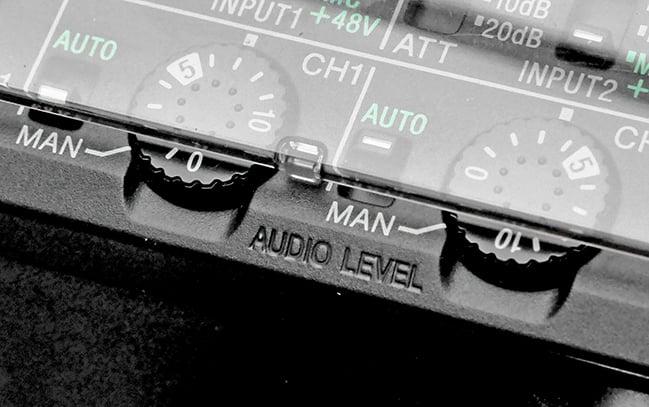 Audio controls beneath a plastic flap.jpg