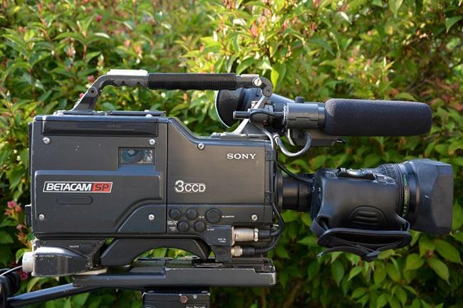 Betacam SP camera.