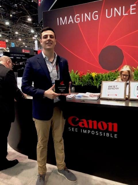 Canon RedShark News Awards NAB 2019 2.JPG