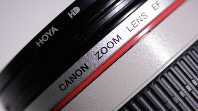 Canon's L-series lenses are  engineered to give excellent results on stills cameras. They don't,  however, have a fixed mechanical and electronic relationship controlling  focus distance.JPG