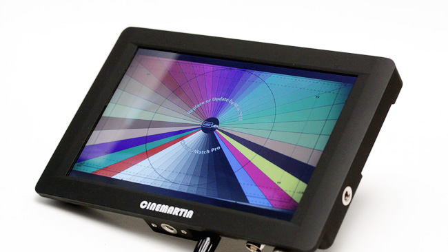 Cinemartin's Eclipse monitor has  high brightness for outdoor use