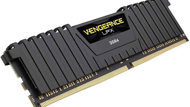 Corsair VENGEANCE LPX RAM. Ignore the hyperbolic title. It's DDR4 memory