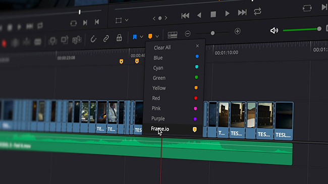 DaVinci Resolve Frame io integration.jpg