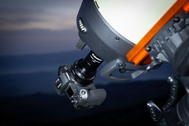 EOS Ra attached to a telescope.jpg