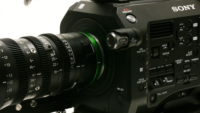 Fujinon 18 55mm T2.9 zoom on the Sony FS7