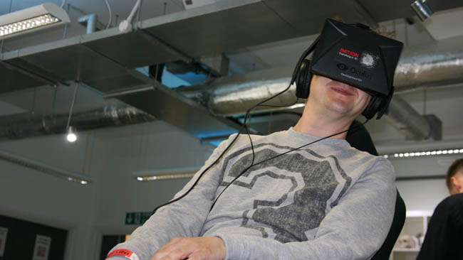 Games are a natural environment for VR. We shouldnt overlook narrative content but we should think hard about it