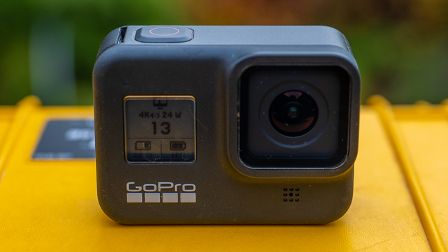 GoPro HERO8 review - front view