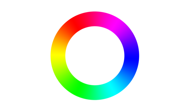 Hue wheel, as found in software  from Gimp to Photoshop to Resolve. Sort of reminiscent of the CIE 1931  diagram