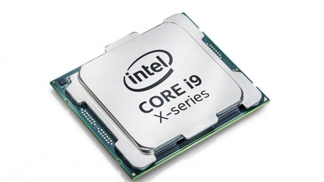 Intel's Core i9-7980XE, released   last year, is an eighteen-core, 4.2GHz monster. Courtesy Intel   Corporation