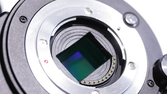 It may be a while before we see  Lumiense's new technology behind a lens mount (Here we see an Altasens  sensor in the JVC HY-LS300)