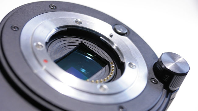 JVC's LS300, with its a widely-compatible micro four-thirds mount. It's shallow, but narrow.JPG