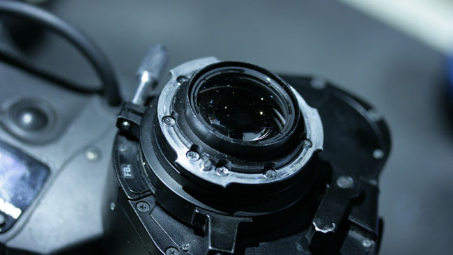 Lenses for smaller chips, such a this B4-mount ENG zoom, are very capable.JPG