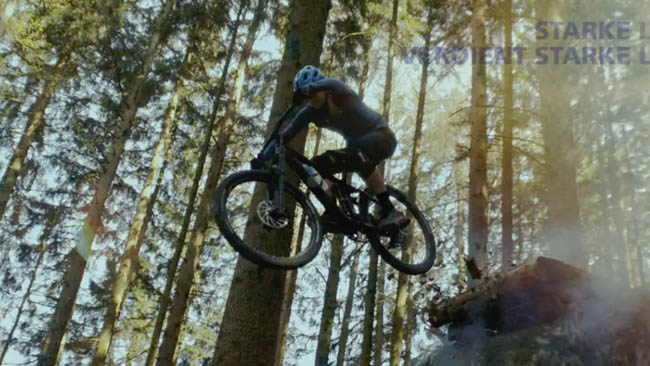Mountain bike not made by  Blackmagic. Everything else made by Blackmagic