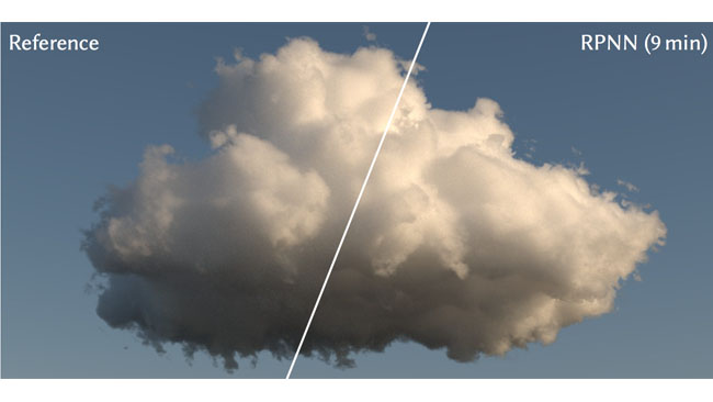 New cloud rendering technology developed by Disney can render very complex things like clouds unprecedentedly quickly using AI