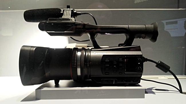 Panasonic Consumer 4K camcorder