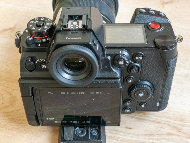 Panasonic Lumix S1H rear view showing the new LCD hinge assembly.jpg