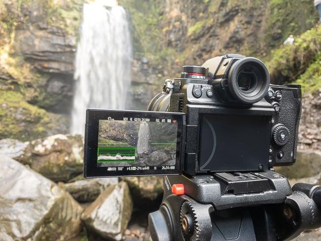 Panasonic Lumix S1H taking pictures of waterfalls.jpg