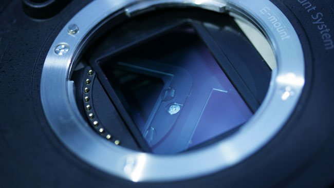 Sony's E mount is shallow, but not particularly wide.jpg