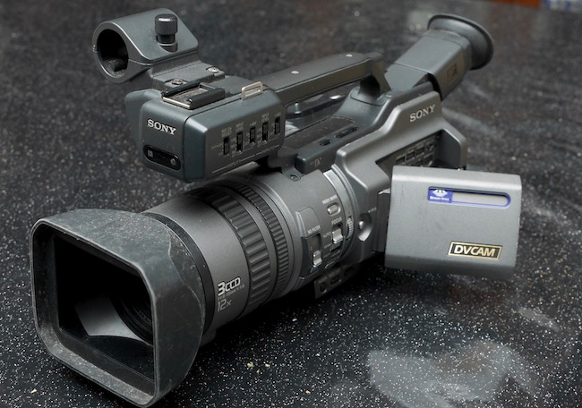 The author's PD150, the successor to the VX1000