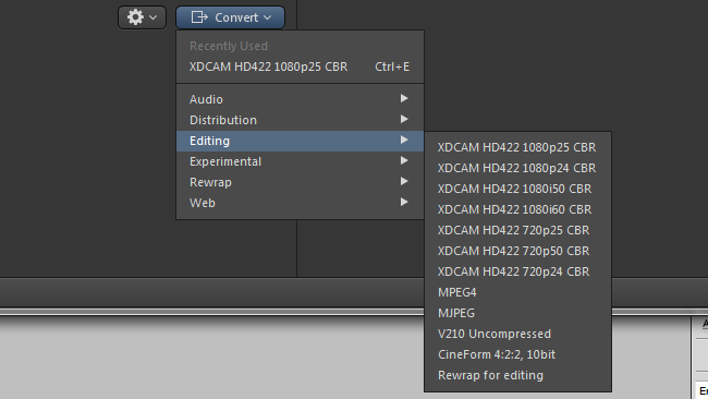 There's now Cineform encoding, too.png