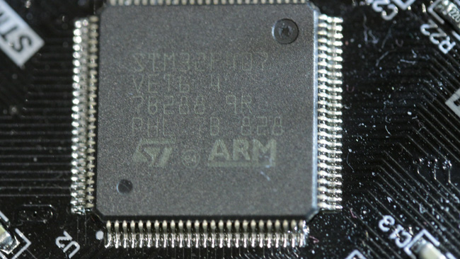 This STM32F407 microcontroller uses as its brain an Arm Cortex M4 CPU running at 168MHz The development board cost £10 Weep, mid-90s computer users.JPG