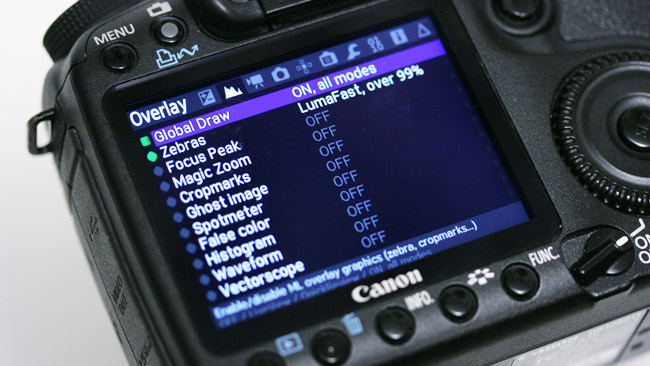 While it's most famous for the raw video capability, Magic Lantern does a lot more things besides.JPG