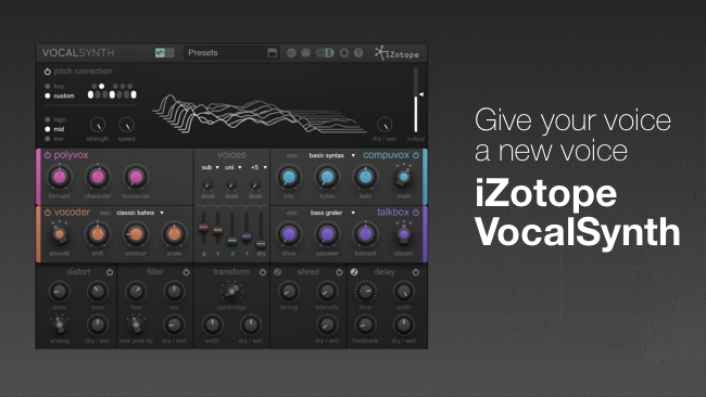 iZotope / RedShark Sound