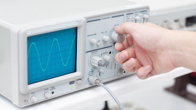 Oscilloscope image by Shutterstock