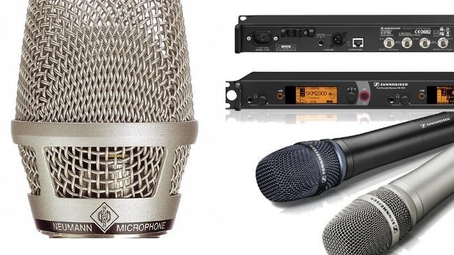 Neumann / Sennheiser / RedShark Sound