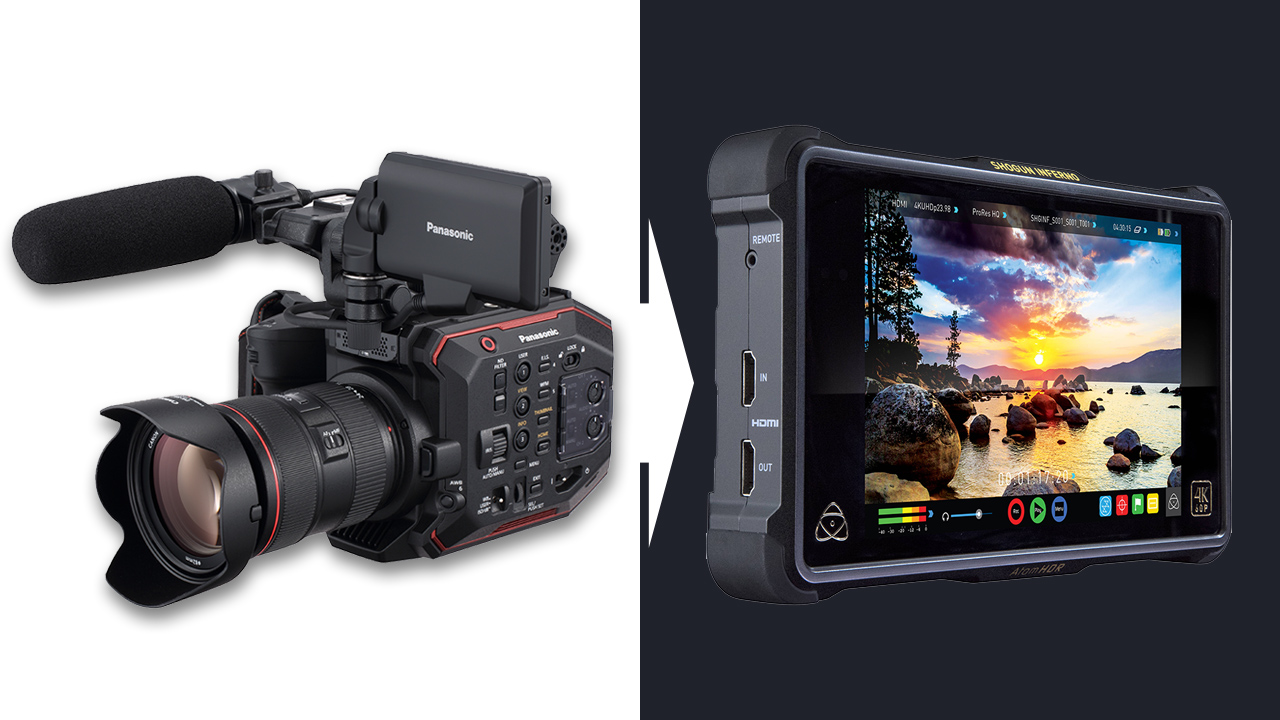 Panasonic and Atomos