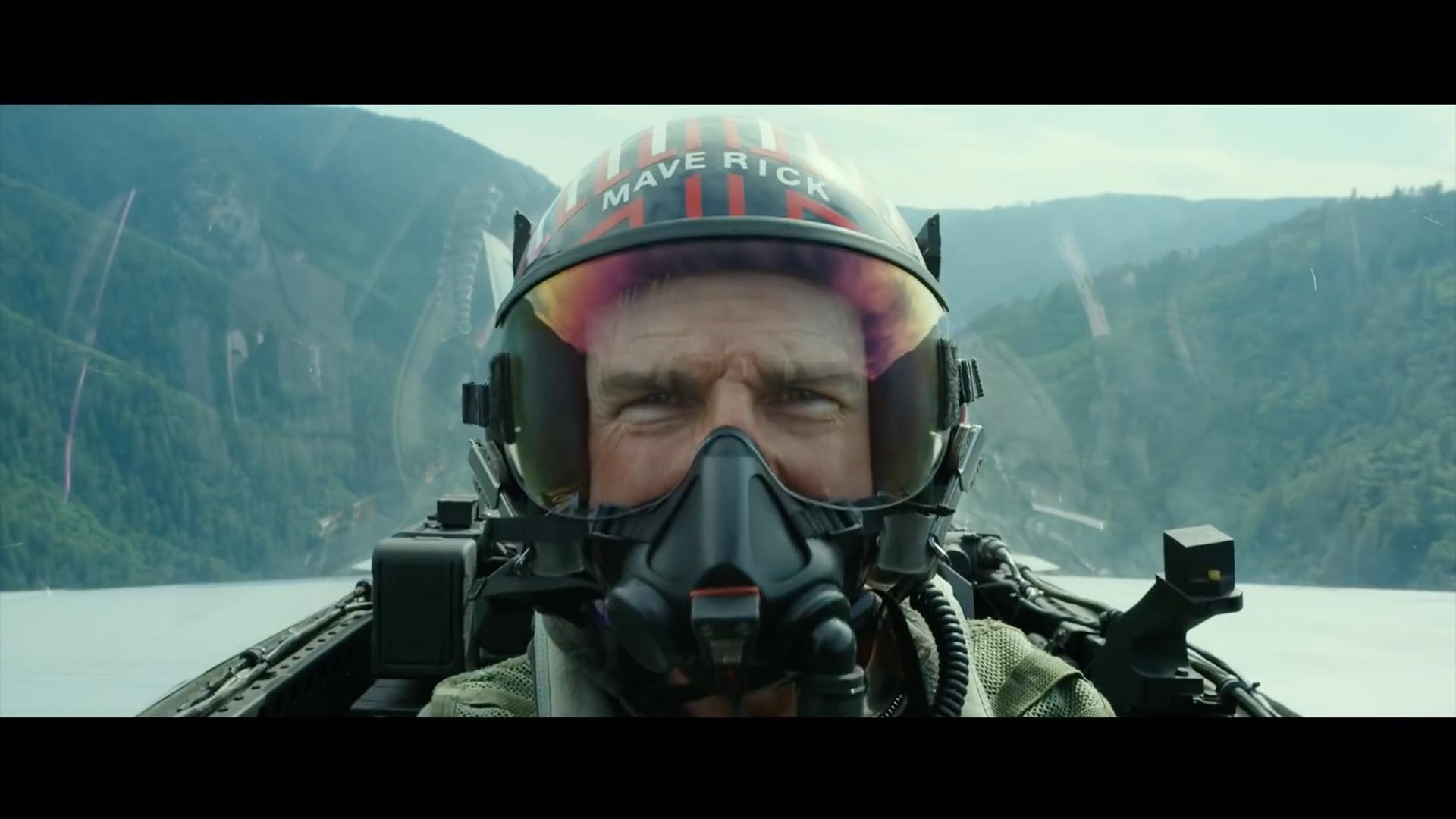 Screen grab from Top Gun 2 trailer