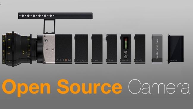 Axiom Open Source Camera