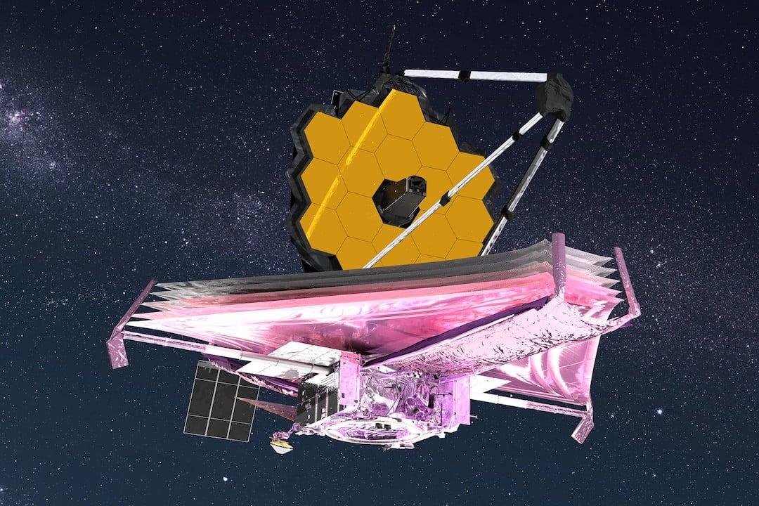 james webb space telescope artists impression