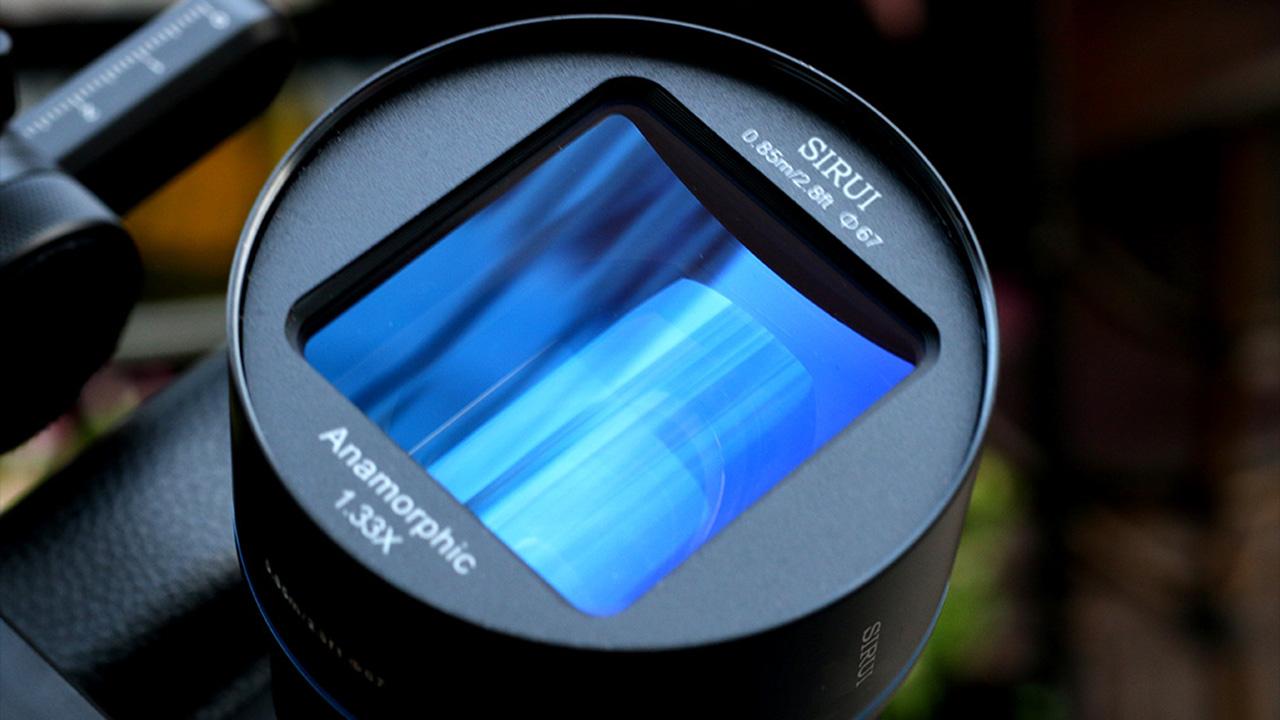 Sirui anamorphic lens. Image: Sirui.