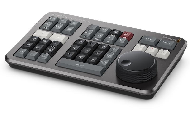 DaVinci Resolve Speed Editor Keyboard.