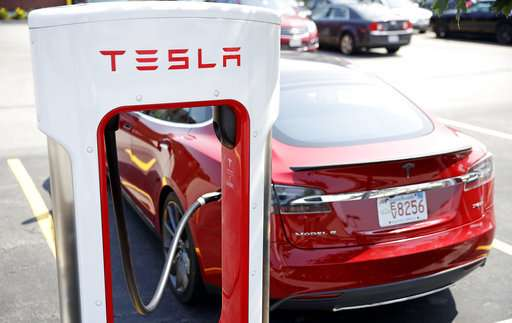 Tesla outage.