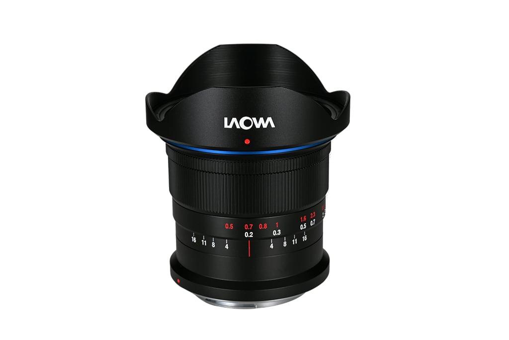 Laowa 14mm f/4 Zero-D DSLR lens.