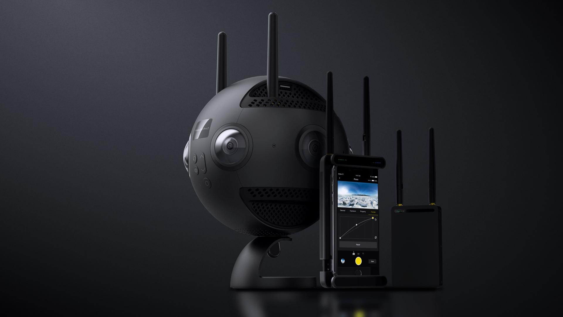 The Insta360 Pro 2. Image: Insta360.