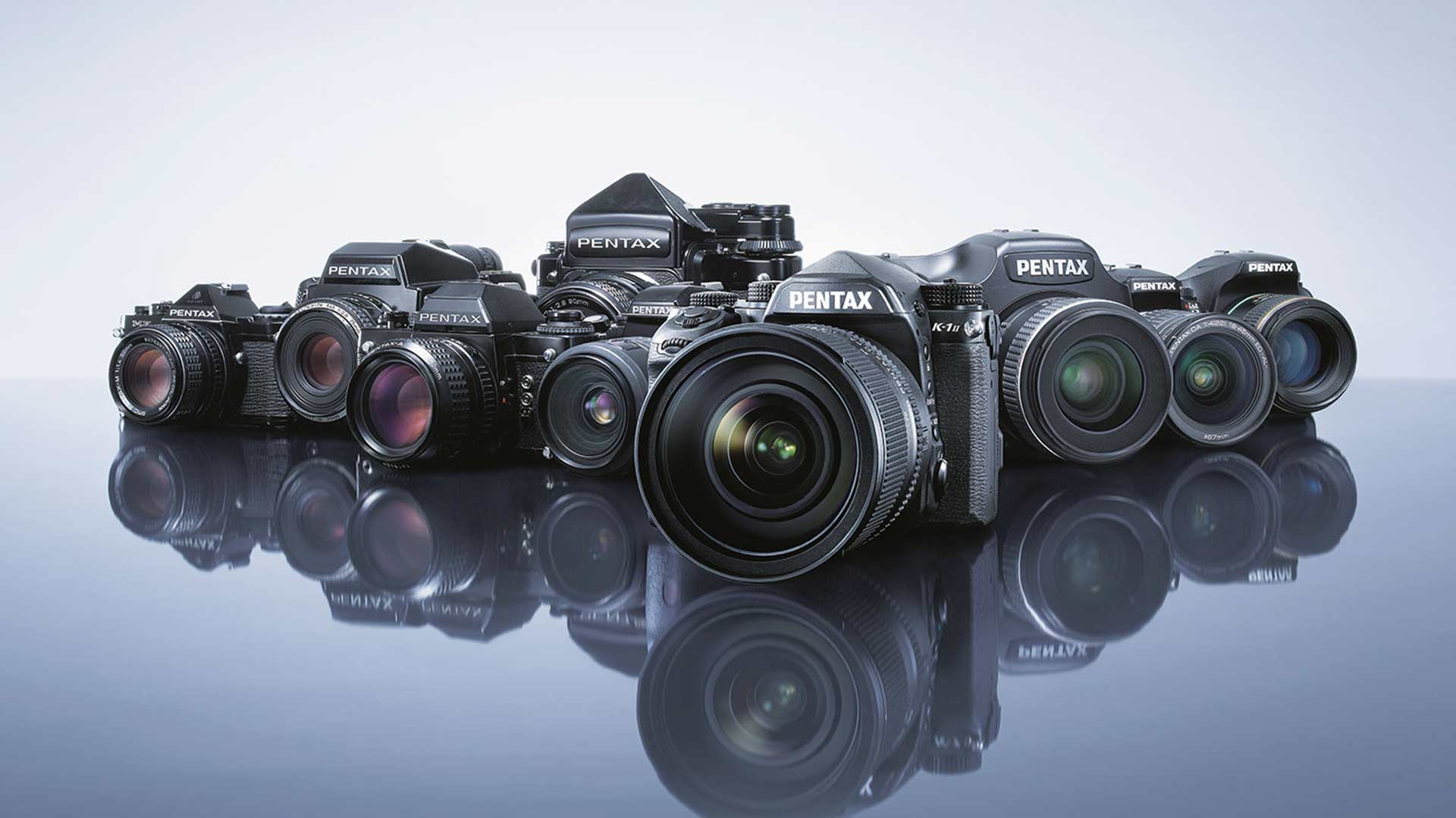 Old to new, Pentax has a rich history. Image: Ricoh Imaging.